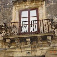 Balcony of the palazzo