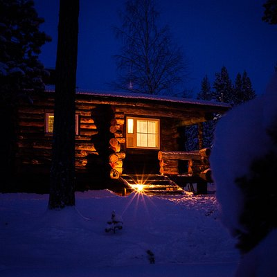 Finnish Sauna evening at the cabin