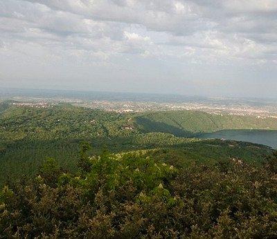 Panorama sui Castelli Romani
