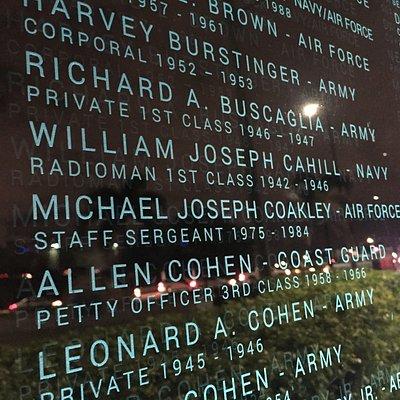 List of veterans