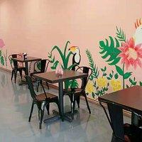 tropical/brazilian mural