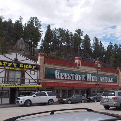 Keystone Mercantile in Keystone SD