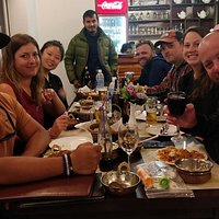 Group Enjoying at Kantipur Tandoori House, Thamel