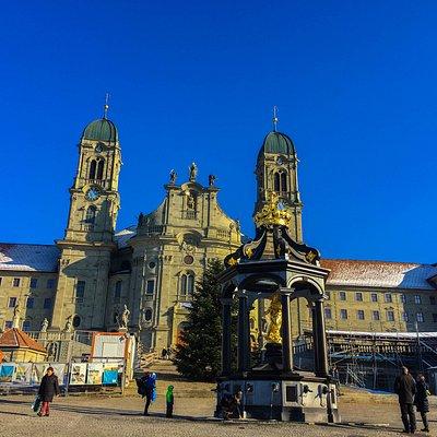 Kloster Einsiedeln - Frauenbrunnen