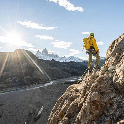 alguna de las vistas mientras hacemos nuestra escalada