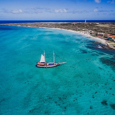 Where you should spend your day, best view of Aruba is from the sea