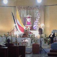 """La Virgen de los Ángeles, conocida popularmente como """"la negrita"""" es la  Patrona de los católicos de Costa Rica."""