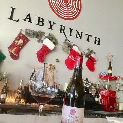 Wine tasting at Labyrinth Winery!