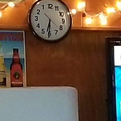 Quirky clock