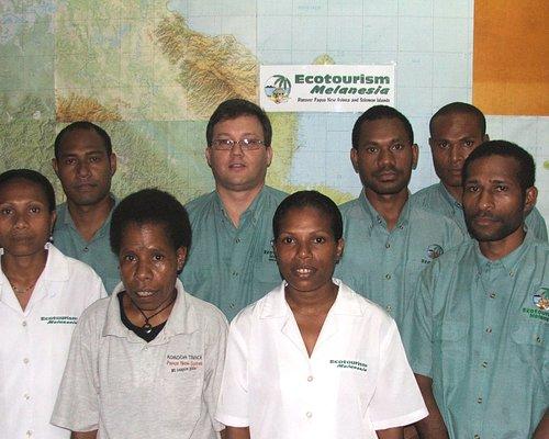 Ecotourism Melanesia - some of our staff family