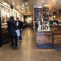 Starbucks - inside door