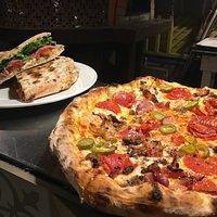 Pizza and Panini's at Paparazzi Pizzeria
