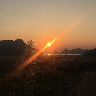 Sun set ! Photo by Mr Tuan
