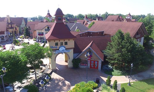 River Place Shops is a German-inspired shopping village in downtown Frankenmuth, known as Michigan's Little Bavaria.