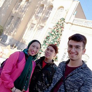 With a lovely Singaporean mother and her mischievous son in a tour around Iran! Location: Vank Cathedral, Isfahan