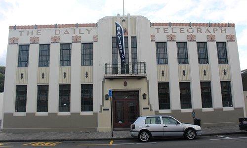 Art Decó en Napier