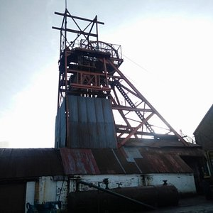 Coity tip trail Big Pit Mining Museum