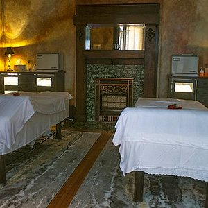 This is our couples room in the Original 125 yr old Victorian