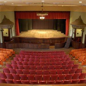 Monticello Opera House stage