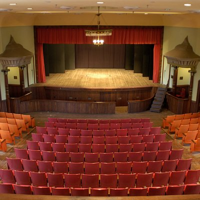 Monticello Opera House stage