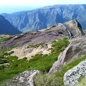Panorámcia desde Pico Grande.