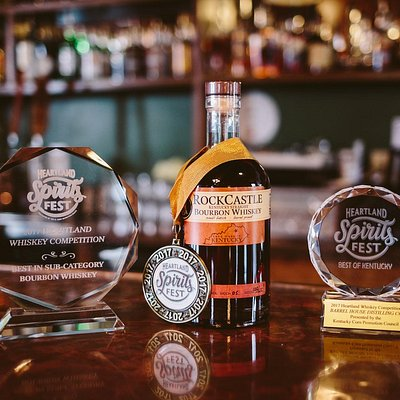 Award winning RockCastle Bourbon