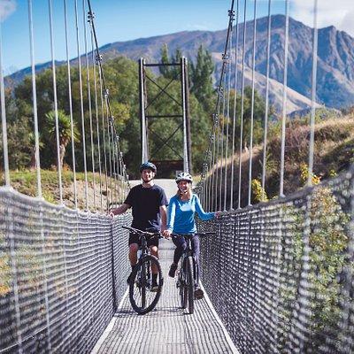 Southern Discoveries Bridge, Arrow River Trail, Bike The Bridges.