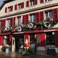 Habit de Noël pour le Cheval Blanc Ribeauvillé