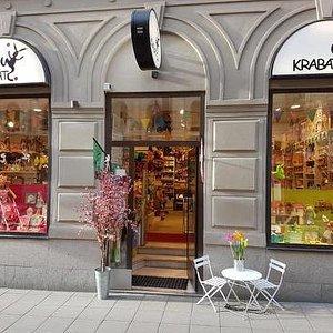 Storefront in springtime!