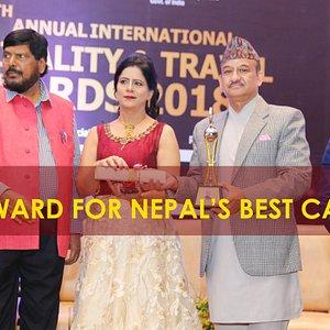 Award for Nepal's Best Casino 2018