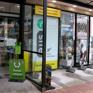 Our tours start from the i-SITE Visitors Centre Wakefield St where you can purchase tickets.