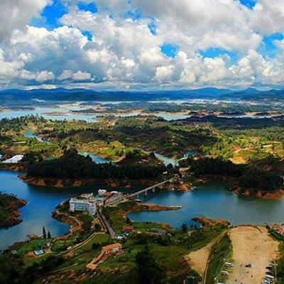 Represa Guatape - Antioquia