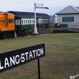 The Milang Railway Museum and craft shop on the shores of Lake Alexandrina