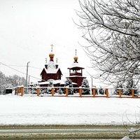Вид снаружи, со стороны проспекта Туполева