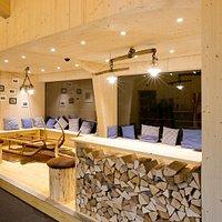 Lounge im Familienrestaurant OX