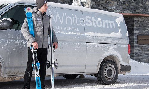 White Storm offer in-store fitting and ski rental delivery accross The Three Valleys