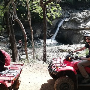 ARTOLA waterfall tour... www.atvtoursconchal.com #costarica #playaconchal #playaflamingo #guanacaste #atvtours