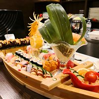 Barca di sushi mix