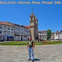 Largo Carlos Amarante, Braga, Portugal