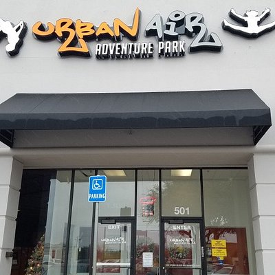 1303 North Collins Street, Suite 501, Arlington, TX 76011 • (682) 226-6838 • parties@urbanairarlington.com • The ultimate indoor playground is located right in the heart of the metroplex. If you are looking for Texas' best year-round indoor amusements, Urban Air Trampoline and Adventure park will be the perfect place. With new adventures behind every corner, we are the ultimate indoor playground for your entire family.
