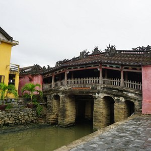 The famous Japanese Bridge in Hoi An
