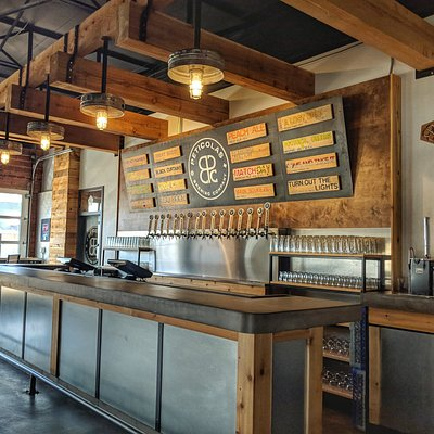 We're quite proud of how our quirky little taproom overhaul turned out!