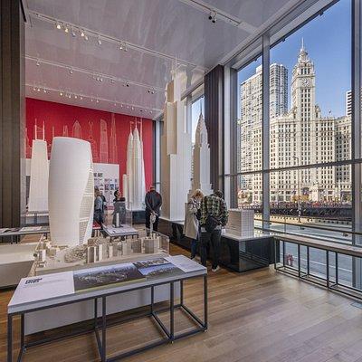 The Skyscraper Gallery in the Chicago Architecture Center