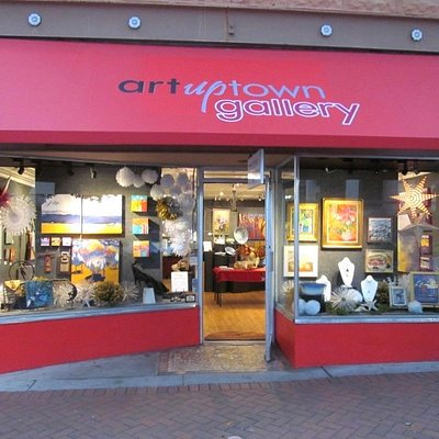 Art Uptown Gallery, at 1367 Main Street, is open seven days a week.