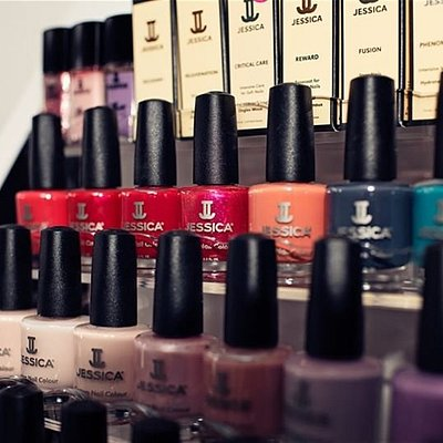 """""""Glam it up""""- Get Party ready with a facial and a prescriptive manicure for the Christmas price of £45. Book two """"glam it up's"""" and get a free file and paint on toes with matching colour."""