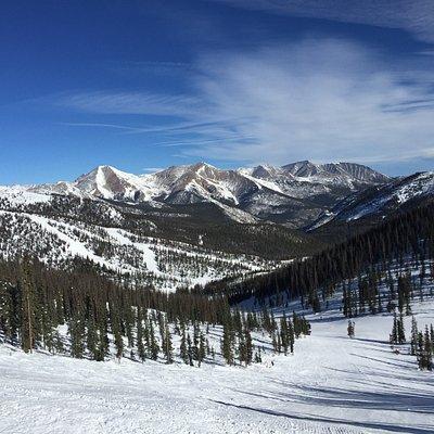 Big sky and smooth skiing