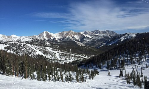 Big sky and smooth skiing