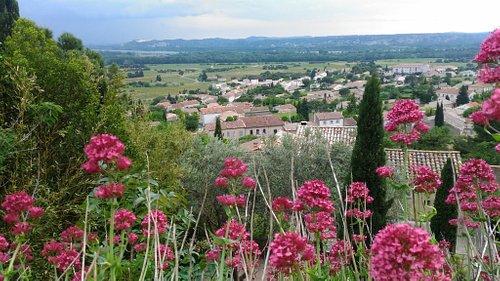 Panorama sur la Vallée du Rhône depuis l'esplanade du Château