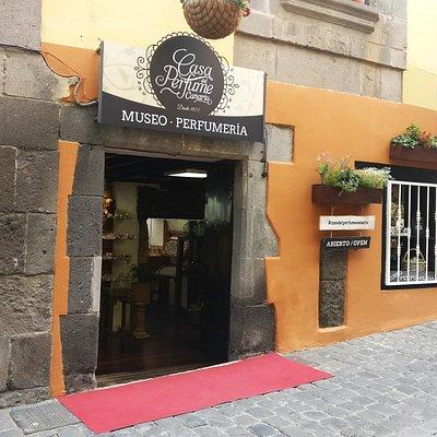 Fachada Museo Perfumería Casa del Perfume Canario Vegueta