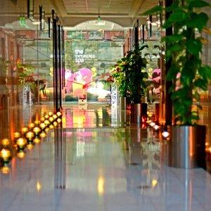 Entrance-The Experience-spa-Ramada beach-hotel-Ajman